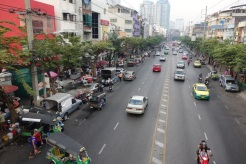 Main street near our bed & breakfast