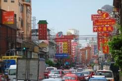 Traffic chaos in Yaowarat Chinatown