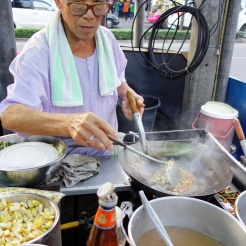 Pad thai vendor