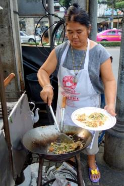 Pad thai vendor