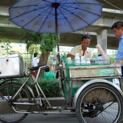 Ice cream vendor