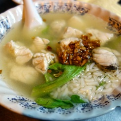 Fish rice porridge