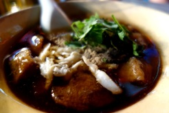 Fish maw soup in Yaorawat Chinatown