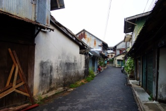 Old town in Trat.