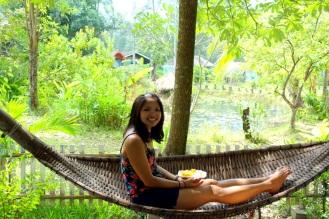 Terrace hammock, Blue Lagoon Bungalows