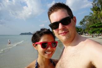 Chillin' on Klong Prao beach!