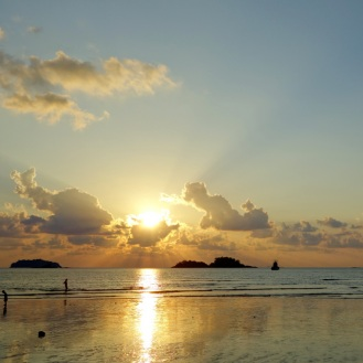 Klong Prao Beach Sunset