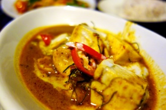 Penang Curry (Peanut red curry) at Ka-Ti Culinary