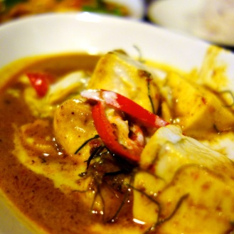 Penang Curry (Peanut red curry) at Ka-Ti Culinary