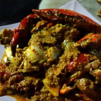 Yellow curry crab... soooo delicious