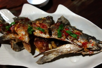 Fried fish 3 senses (soo good we ordered in two nights in a row)