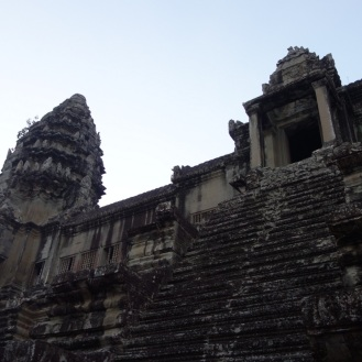 Angkor Wat early in the morning