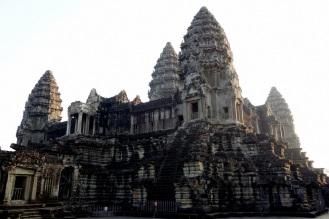 Corner shot of Angkor Wat