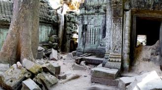 Ruins inside Ta Prohm