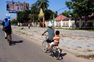 Cruising around Siem Reap