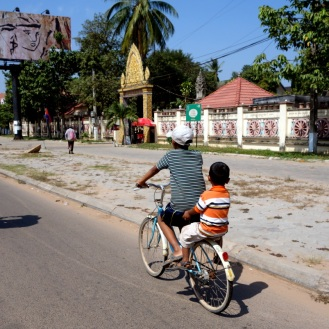 Cruising around Siem Reap