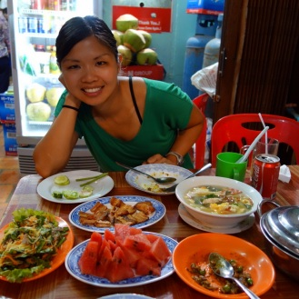 Fantastic meal at Chanrea Dom Makara
