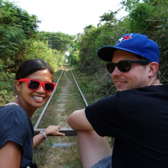 On the bamboo railway