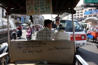 Our tuk tuk driver Mr. Sunny