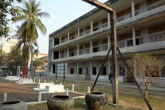Tuol Sleng Genocide Museum, former elementary and high school