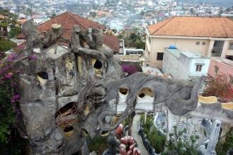 """Dalat """"crazy house"""". Dalat's answer to Gaudi."""