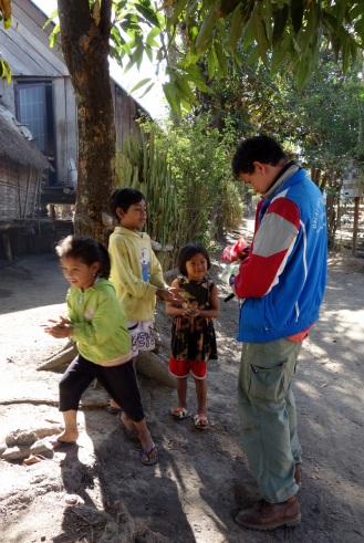 M'nong village in Lak Lake