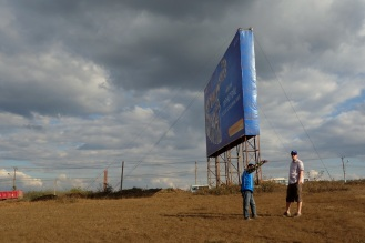 A roadside stop.