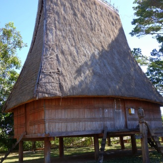 Hill tribe longhouse.