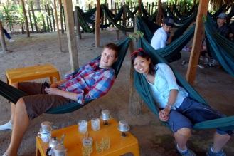 Another roadside hammock-coffee stop.
