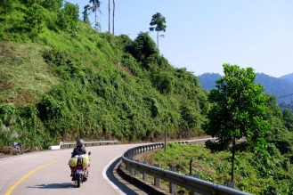 We passed over a mountain and entered a whole new climate area where it was humid and jungle/rainforest.