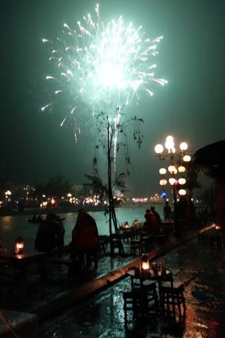 Tet fireworks in Hoi An
