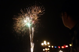 Tet fireworks in Hoi An.