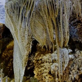 Amazing stalagtites inside Paradise Cave