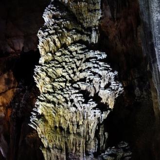More stalagmites/stalactites