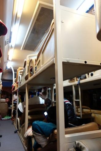 Overnight sleeper bus!