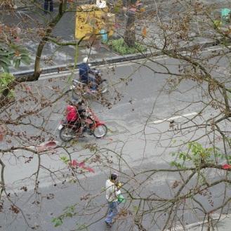 Streets near Hoan Kiem Lake