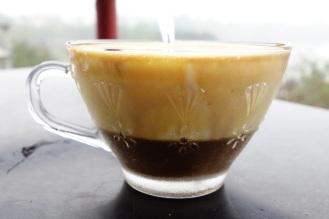 Egg coffee, surprisingly delicious