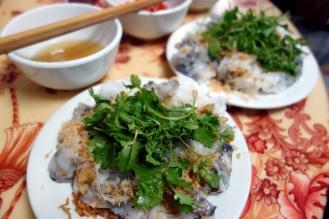 Banh Cuon (fresh rice rolls)