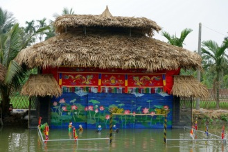Dreadfully boring water puppet show
