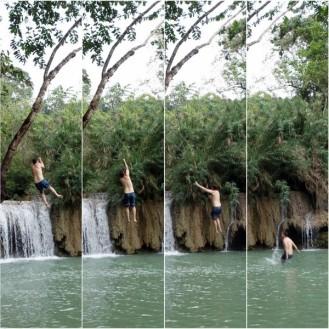 Jesse swinging