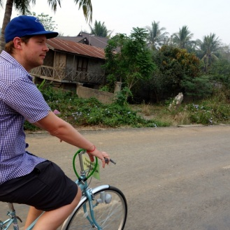 Out for a cruise outside Luang Prabang