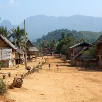 Lao village
