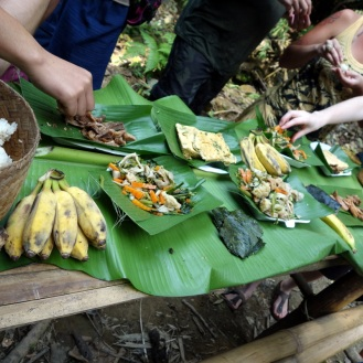 Delicious trekking lunch