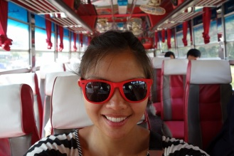 Riding the somewhat pimped out bus from the lao border to Chiang Rai
