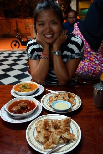 Delicious muslim food in Chiang Rai
