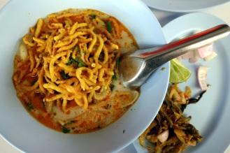 Chiang Rai Khao Soim (decent, but not nearly as good as in Chiang Mai)