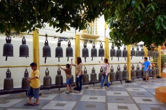 Bells at Wat Phra That Doi Suthep temple