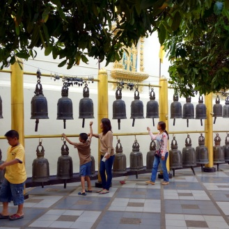 Bells at Wat Phra That Doi Suthep temple