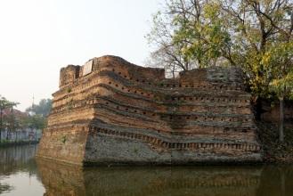 Chiang Rai city walls (melting)