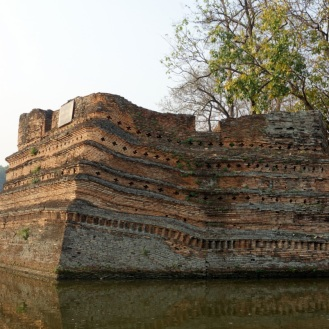 Chiang Rai city walls (melting)